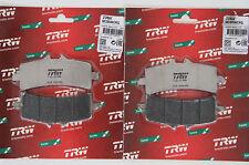 TRW Brake Pad MCB 858 Crq Carbon Aprilia RSV4 1000 RR, RF Front Front Brake Pad