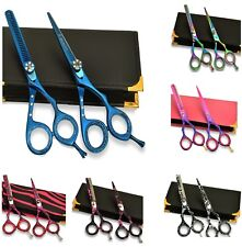 """Giftset Hairdressing & Hair Thinning Scissors Japanese Stainless Steel 5.5"""""""
