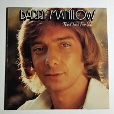 Barry Manilow ‎/ This One's For You (Vinyl LP)
