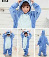 AU Animal Costume Children Kid Unisex Onesie11 Pajamas Kigurumi Sleepwear Outfit