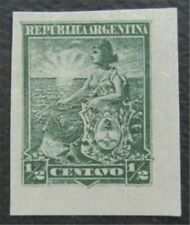 nystamps Argentina Stamp Mint Proof  O22x018