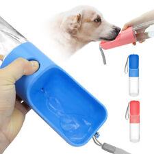 450ml Portable Dog Water Bottle Outdoor Travel Puppy Drinking Dispenser Feeder