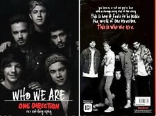 Who We Are - One Direction an Autobiography - HC w'DJ 1st PRINT 2014 (UK)