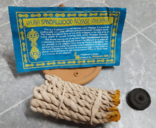 Vajra SandalWood Tibetan Rope Incense(Dhupaya), Nepal