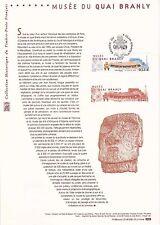 Document Philatélique Timbre 1er Jour : 08/07/ 2006 - Musée du Quai Branly