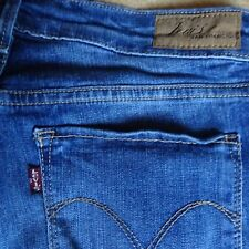 jean LEVI'S Slight Curve Classic slim leg stretch W27 L32 femme 36 genou troué B