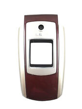 Samsung SGH-A127 Cell Phone Front Housing Case Plastic Cover Faceplates Wine OEM