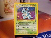 Nidoqueen 12/130 Base Set 2 Holo Rare Pokemon Card NmMint
