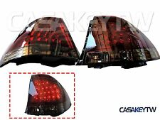 LED RED/SMOKE Tail Lights Rear For LEXUS IS200 IS300 98-05 ALTEZZA