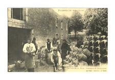 CP FOUGEROLLES Haute-Saône VANNERIE ET BONBONNES, animée Reproduction CPA n°911.
