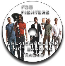 59 x FOO FIGHTERS STYLE MP3 ROCK GUITAR BACKING JAM TRACKS CD LIBRARY COLLECTION