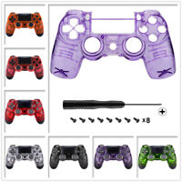 Customize Transparent Faceplate Upper Housing Shell For PS4 Slim Pro Controller