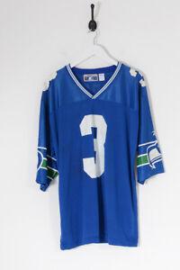 Vintage NFL Seattle Seahawks American Football Jersey Blue (L)