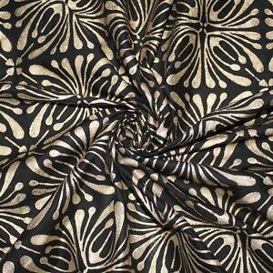 3 Yard Hand Block Print Indian Cotton Running Loose Dressmaking Sewing Fabric