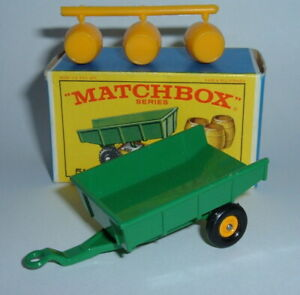 Rare Matchbox Seriers No. 51, Tipping Trailer, - Un-used Superb Mint Condition.