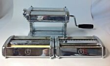 Himark Pasta Queen with 3 Attachment Heads for Spaghetti Lasagna and More Italy