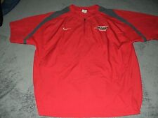 AUTHENTIC GAME WORN SOUTHEASTERN UNIVERSITY FIRE BASEBALL BP JERSEY SHIRT NIKE