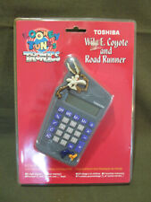 Vintage Looney Tunes Tronics Toshiba Calculator Wile E Coyote Road Runner