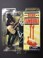 Richie Sambora Signed Bon Jovi McFarlane Toy Figure Rare EXACT PROOF Jon Guitar