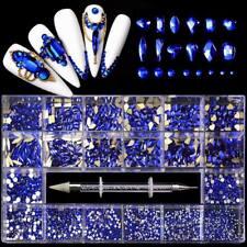 Nail gems nail crystals nail art flat back rhinestones nail salon DIY