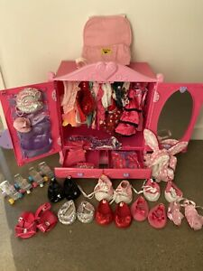 Build a Bear Wardrobe with Clothes & Shoes
