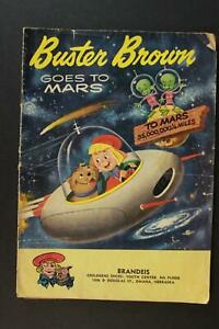 LOT of TWO 1950s BUSTER BROWN SHOES GIVE-A-WAY COMICS~