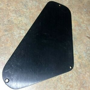 Vintage 1980s Charvel Anodized Aluminum Control Plate, Back Cover