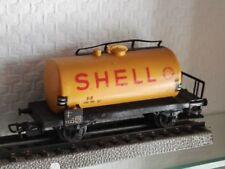 MÄRKLIN H0 Shell Kesselwagen Antik Gelb 11,5 cm Waggon Güterwaggon