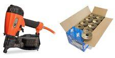 Tacwise FCN57V Air Coil Nail Gun + 40mm Galv Nails