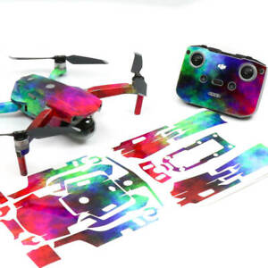 Rainbow Clouds Drone Skin Wrap Stickers Decal for DJI Mavic Air 2