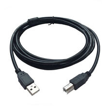 USB-Kabel Druckerkabel Typ A auf B-Stecker Hochgeschwindigkeit 2.0 VERGOLDET #
