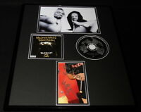 Method Man & Redman Dual Signed Framed 16x20 Blackout 2 CD & Photo Set