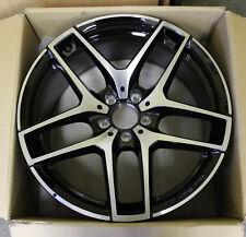 1 X AMG Jantes Alu 5 Double Rayons Moyeu de Roue Eclat Torsadé Mercedes Benz 9J