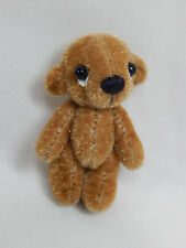 "World of Miniature Bears 2"" Plush Bear Ichigou #1244 Tan Collectible Miniature"