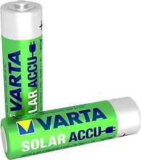 VARTA Solar Rechargeable 800 mAh AA Ni-mh Battery (pack of 2)