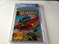 BEWARE 2 CGC 9.6 WHITE PAGES BLIND DATE REDHEAD SKELETON MARVEL COMICS