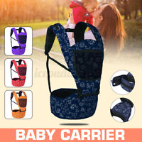 4 Colors Infant Baby Carrier With Hip Seat Stool Adjustable Wrap Sling