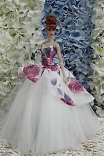 Gown-Outfit-Dress-Fashion-Royalty-Silkstone--Doll-FR  BY T.D.25/5/9 OOAK
