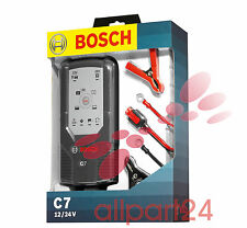 Bosch 018999907M microprocessor battery charger C7, for 12 V and 24 V NIP