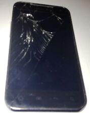 LG Viper LS840 2GB Black & Silver Sprint 4G LTE Smartphone Cracked Glass