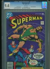 Superman #313 CGC 9.4 (1977) Supergirl Neal Adams Cover Only 7 Copies Higher