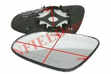 Left & Right ORVM Convex Wing Door Glass With Base Plate Toyota Etios T-2 ECs