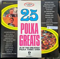 25 Polka Greats 25 of the greatest polka tunes ever Volume 1 Stereo 1971 K-Tel