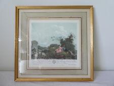 Ancienne Gravure couleur ANETTE a L'AGE DE VINGT ANS de Francois GODEFROY