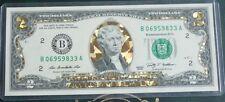 2009 - $2 UNC * Gold Hologram 3D * Note