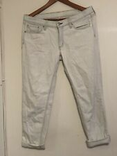 Rag & Bone High Rise Jeans Size 30 Light Blue Wash Strech