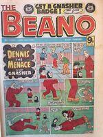 Box j rare The Beano Comic No 2060 January 9th 1982 Biffo