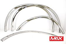 FTFD215 - 99-07 Ford F-350 F-450 Super Duty Dually Model Stainless Fender Trim