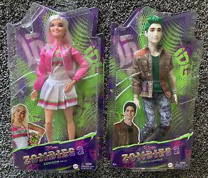 Disney Zombies 2 Addison and Zed Dolls.