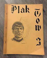 STAR TREK BLAK TOW BLOOD FEVER 3 K/S KIRK SPOCK FANZINE ZINE SLASH FICTION ADULT